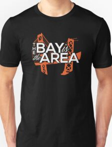 Bay Area Bridges Tee Unisex T-Shirt