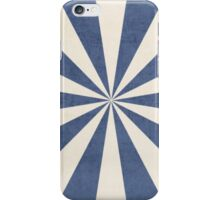 blue starburst iPhone Case/Skin