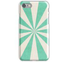mint starburst iPhone Case/Skin