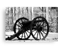 Battlefield Park Cannon Canvas Print