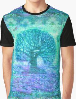 Tree of Life mixed media Graphic T-Shirt