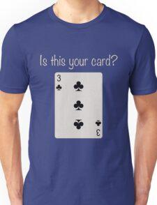 3 of Clubs Unisex T-Shirt