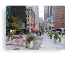 NYC Street Alfresco Canvas Print