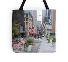NYC Street Alfresco Tote Bag
