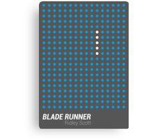 Dot Matrix - BLADE RUNNER - Poster Canvas Print