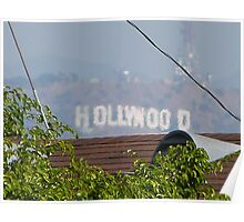 Hollywood through the Trees Poster
