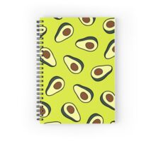 Avocado Pattern Spiral Notebook