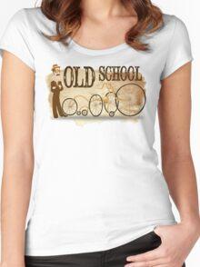 Old School Bike Women's Fitted Scoop T-Shirt