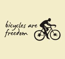 Bicycles are Freedom by PaulHamon