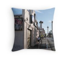 World Famous Pawn Shop Throw Pillow