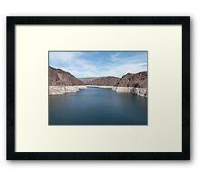 Spectacular Hoover Dam USA Framed Print