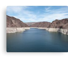 Spectacular Hoover Dam USA Canvas Print