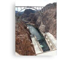 Hoover Dam Spectacular Metal Print