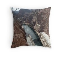 Hoover Dam Spectacular Throw Pillow