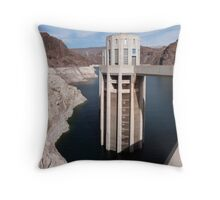 Hoover Dam Throw Pillow