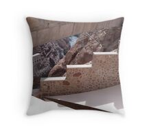 Hoover Dam Stairs Throw Pillow