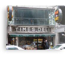 Times Deli NYC Metal Print