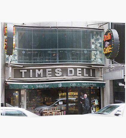 Times Deli NYC Poster