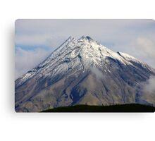 Mt Taranaki close up Canvas Print