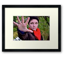 The Greatest Sorcerer to Ever Walk the Earth Framed Print