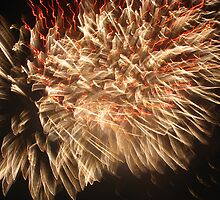 Fireworks 11 by Yvonne Carsley