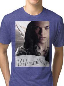 Have a little faith Tri-blend T-Shirt
