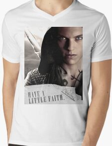 Have a little faith Mens V-Neck T-Shirt