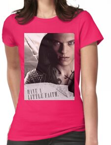 Have a little faith Womens Fitted T-Shirt