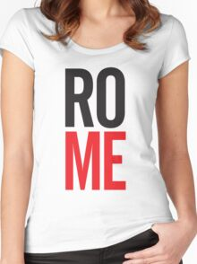 Rome – Me Women's Fitted Scoop T-Shirt