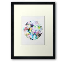 Graphic 30 Framed Print