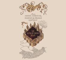 Marauders Map Harry Potter by Ellen Kapelle
