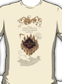 Marauders Map Harry Potter T-Shirt