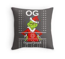 OG Ugly Sweater Throw Pillow