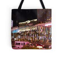 Vegas Strip Nightlife Tote Bag