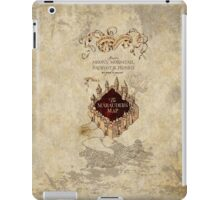 Marauders Map Harry Potter iPad Case/Skin
