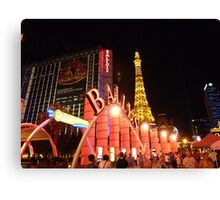 Ballys Las Vegas Canvas Print