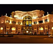 Forum Shops Photographic Print
