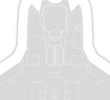 Lockheed F-35B Lightning II (Light) Sticker