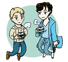 Boys from 221B by elizakaze