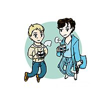 Boys from 221B Photographic Print
