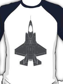 Lockheed F-35B Lightning II (Dark) T-Shirt