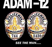 Adam-12 TV Series 70's Retro by MegaCase