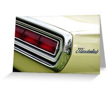 Chrome Bumpers 04 Greeting Card