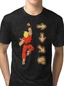 Know your Fighting Skills v2.0 Tri-blend T-Shirt