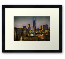 The Windy Framed Print