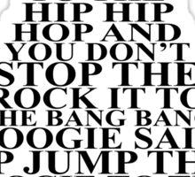 Hippity Hop Sticker