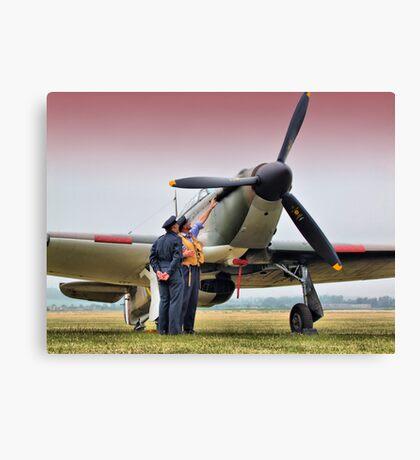 Hurricane - Duxford Flying Legends 2013 Canvas Print