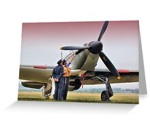 Hurricane - Duxford Flying Legends 2013 Greeting Card