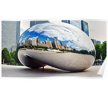 The Chicago Bean Poster