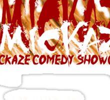 ComicKaze Comedy Show Shirt Logo Sticker
